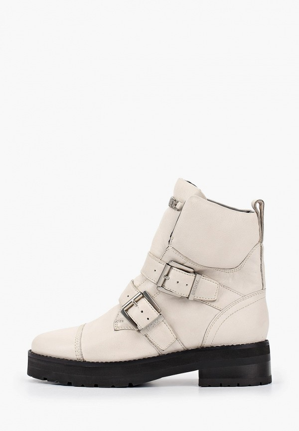 женские ботинки bronx, белые