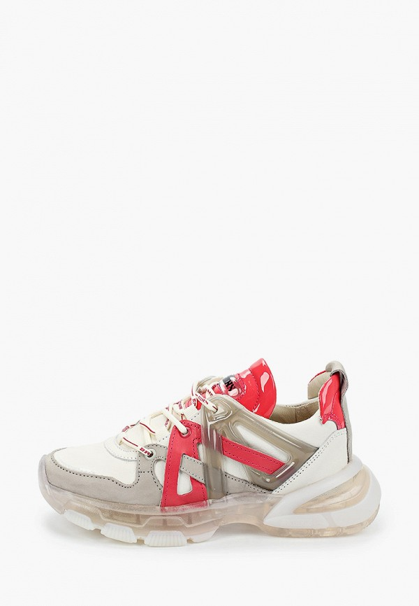 женские кроссовки bronx, белые