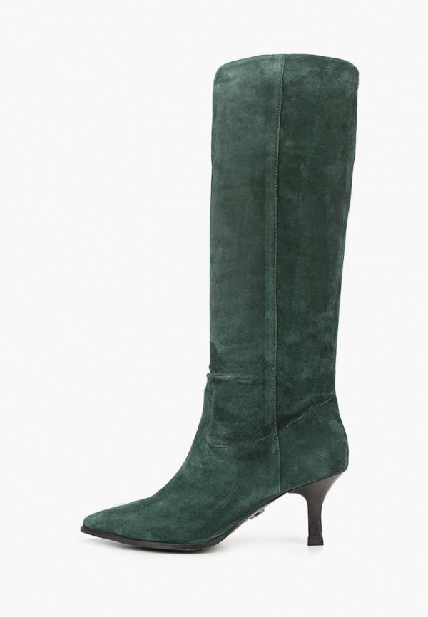 женские сапоги bronx, зеленые