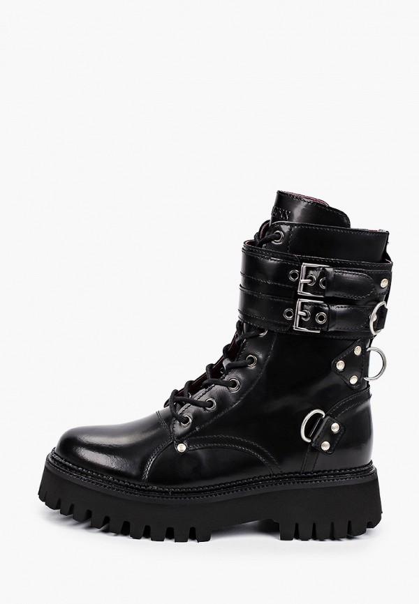 женские ботинки bronx, черные
