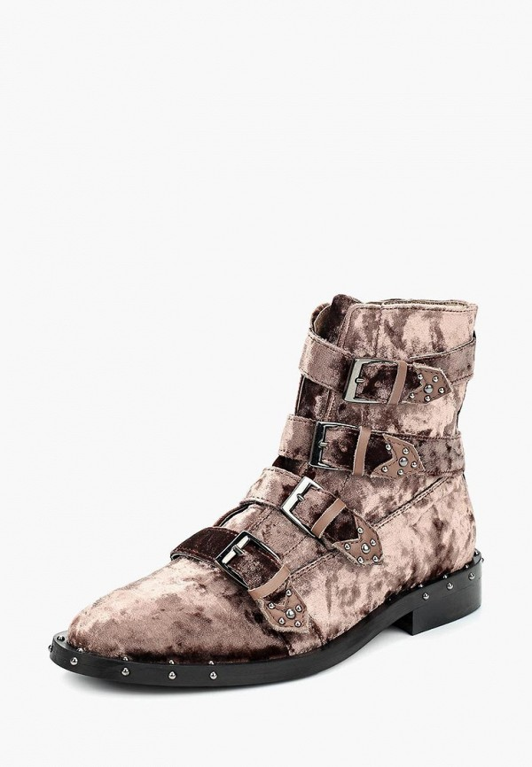 женские ботинки bronx, коричневые