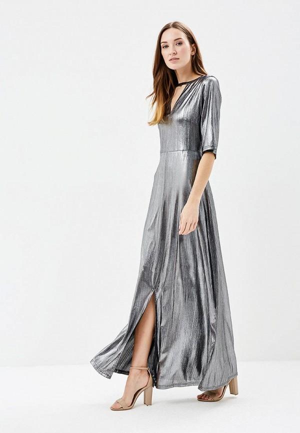 Платье Brigitte Bardot Brigitte Bardot BR831EWAMJY1 bardot neckline scallop hem dress