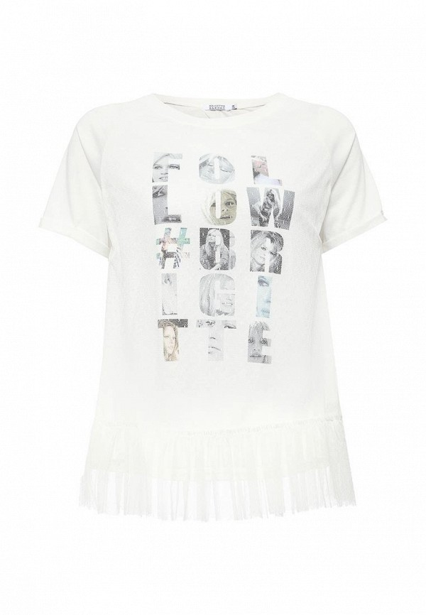 Футболка Brigitte Bardot Brigitte Bardot BR831EWQAT33 платье brigitte bardot brigitte bardot br831ewjlh30