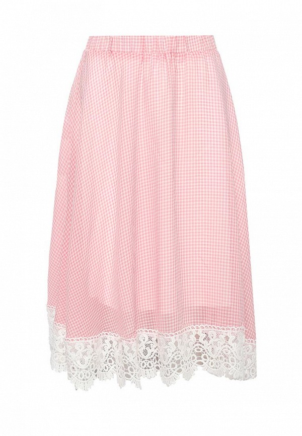 женская юбка brigitte bardot, розовая