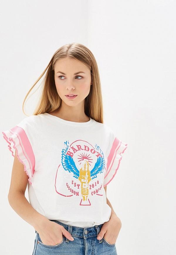 Футболка Brigitte Bardot Brigitte Bardot BR831EWZZH95 bardot ruffle layered skater dress