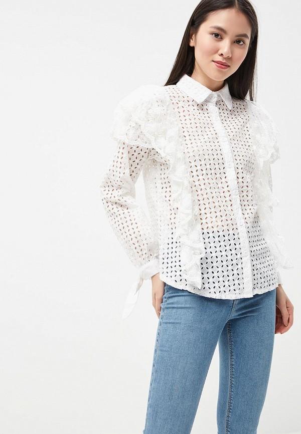 женская блузка brigitte bardot, белая