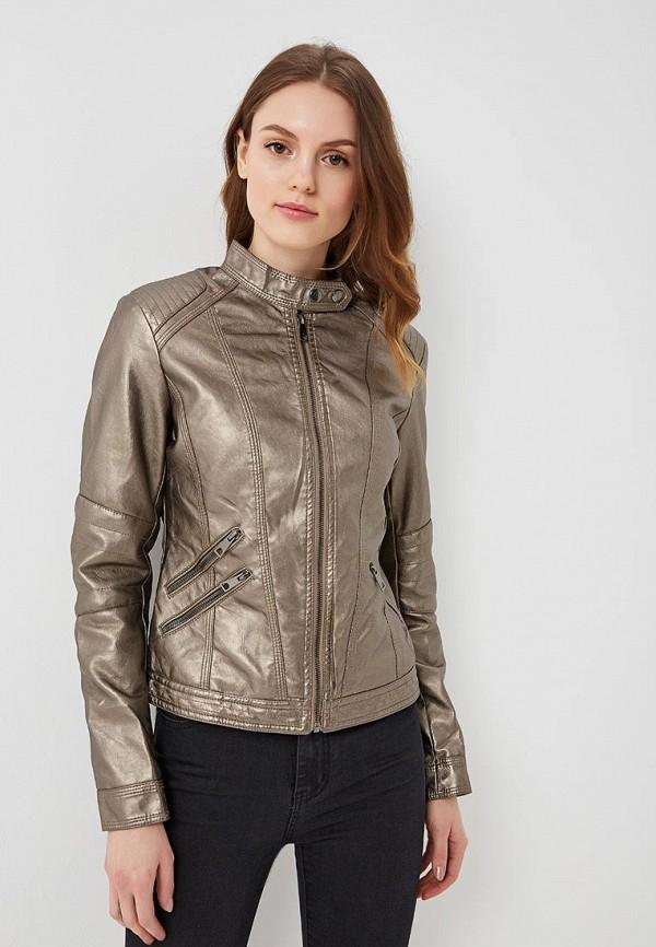 Купить Куртка кожаная B.Style, bs002ewartb8, коричневый, Весна-лето 2018
