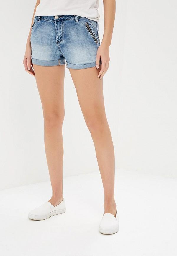 Купить Шорты джинсовые B.Style, bs002ewbfpk3, голубой, Весна-лето 2018