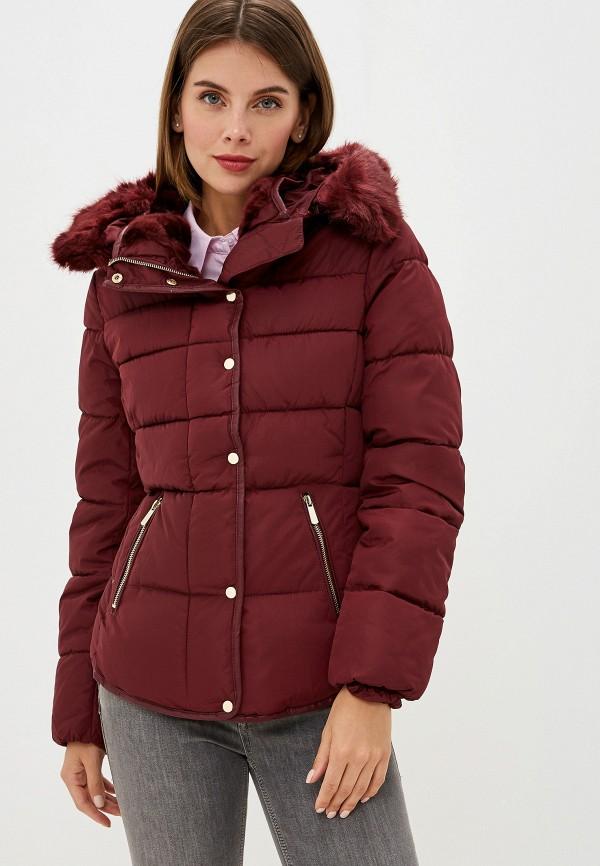 женская куртка b.style, бордовая