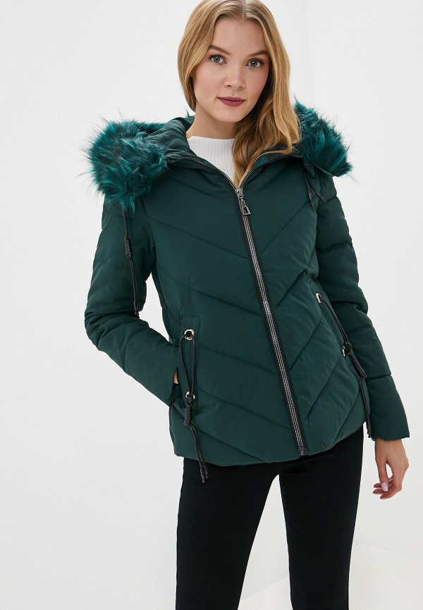 женская куртка b.style, зеленая