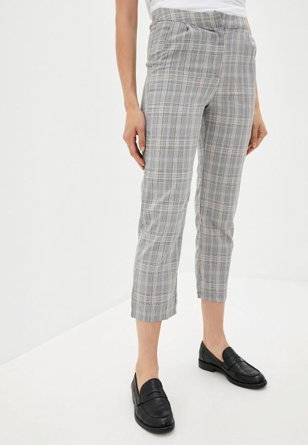 женские повседневные брюки b.style, серые