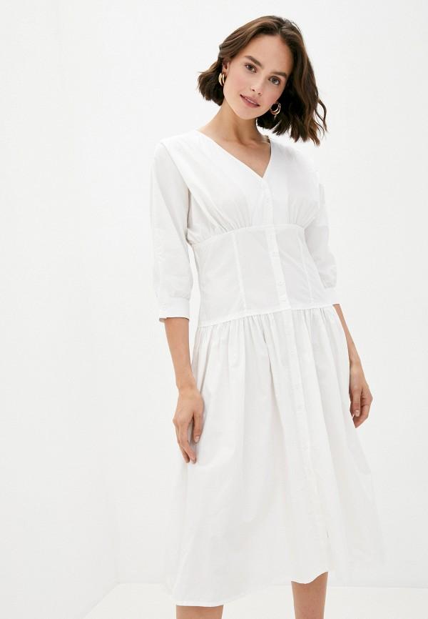 женское повседневные платье b.style, белое