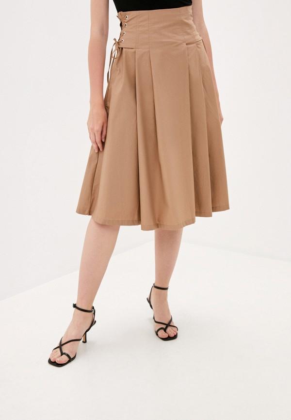 женская юбка b.style, бежевая