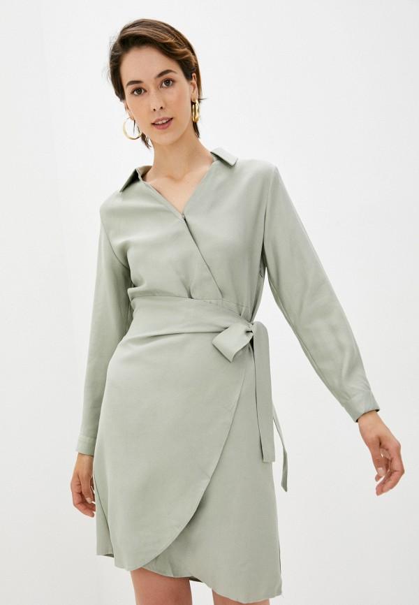 женское повседневные платье b.style, зеленое
