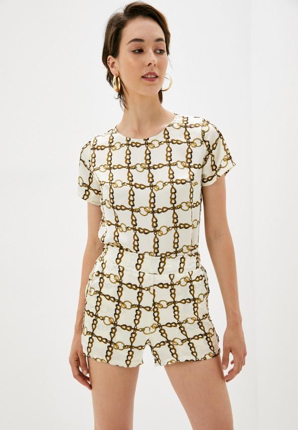 женская блузка b.style, бежевая