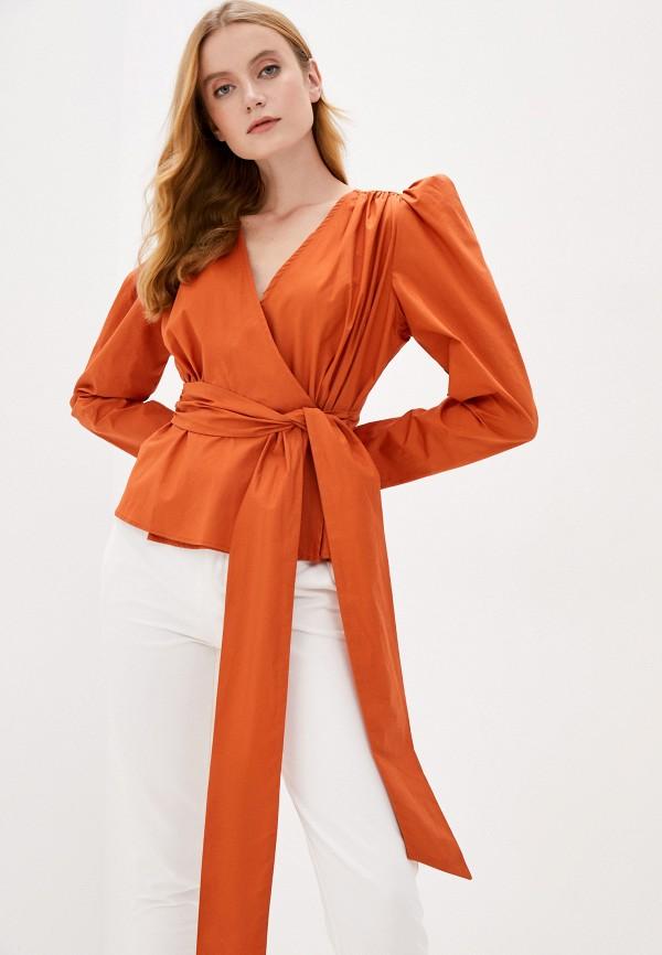 женская блузка b.style, оранжевая