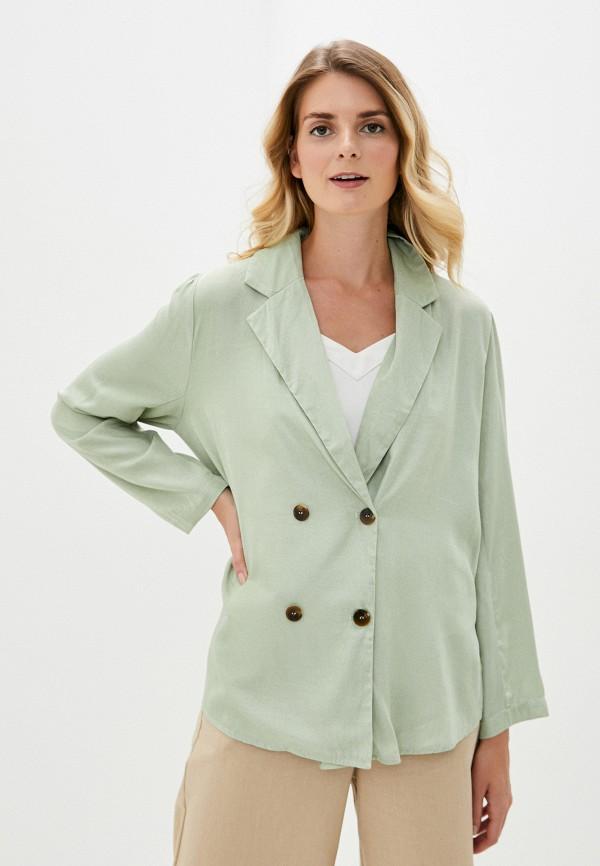 женская блузка b.style, зеленая