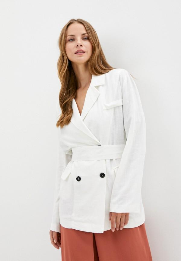 женский жакет b.style, белый