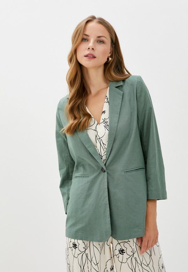 женский жакет b.style, зеленый