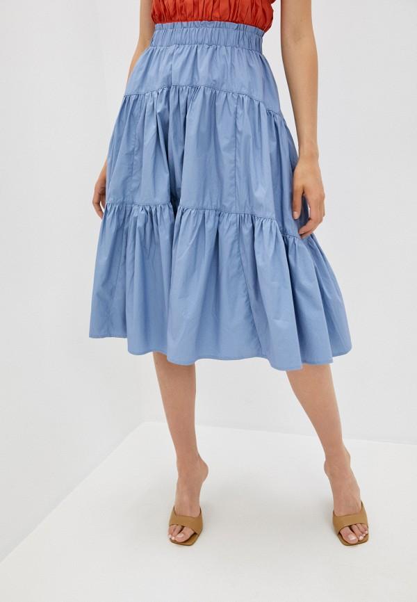женская юбка b.style, голубая