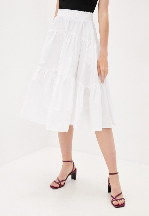 женская юбка b.style, белая