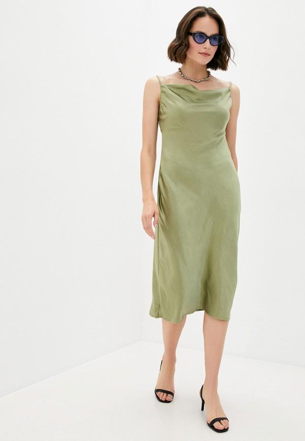 женское платье b.style, хаки