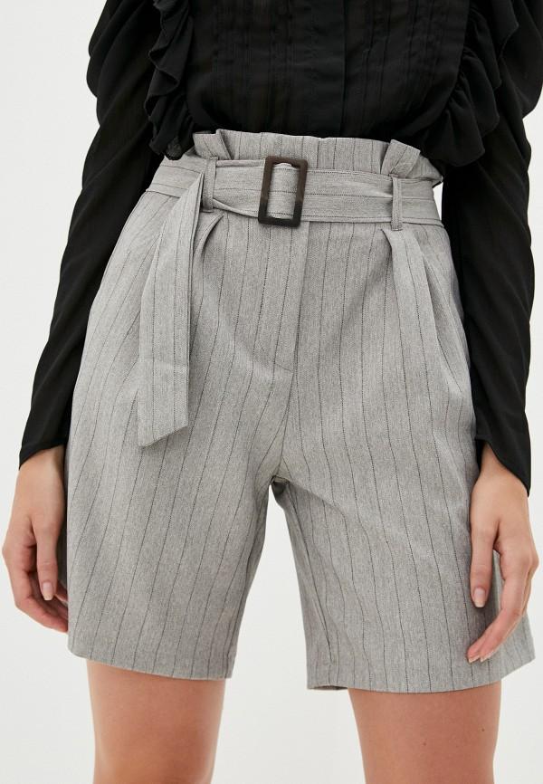 женские повседневные шорты b.style, серые