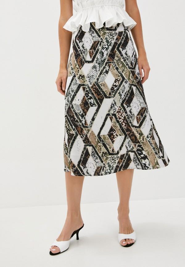 женская юбка b.style, коричневая