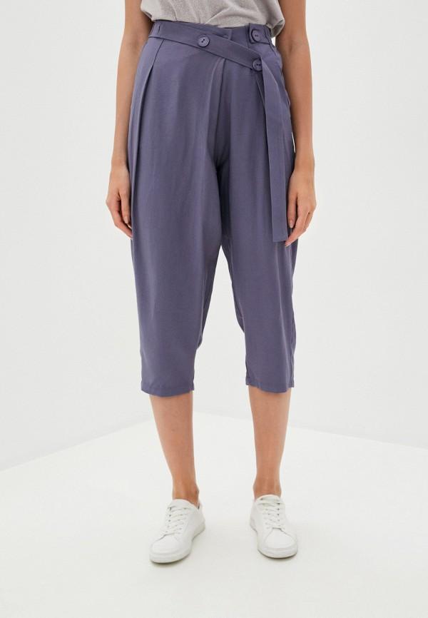 женские брюки b.style, синие