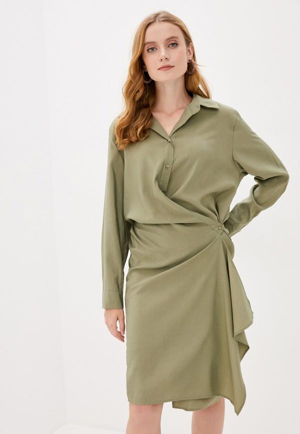 женское повседневные платье b.style, хаки