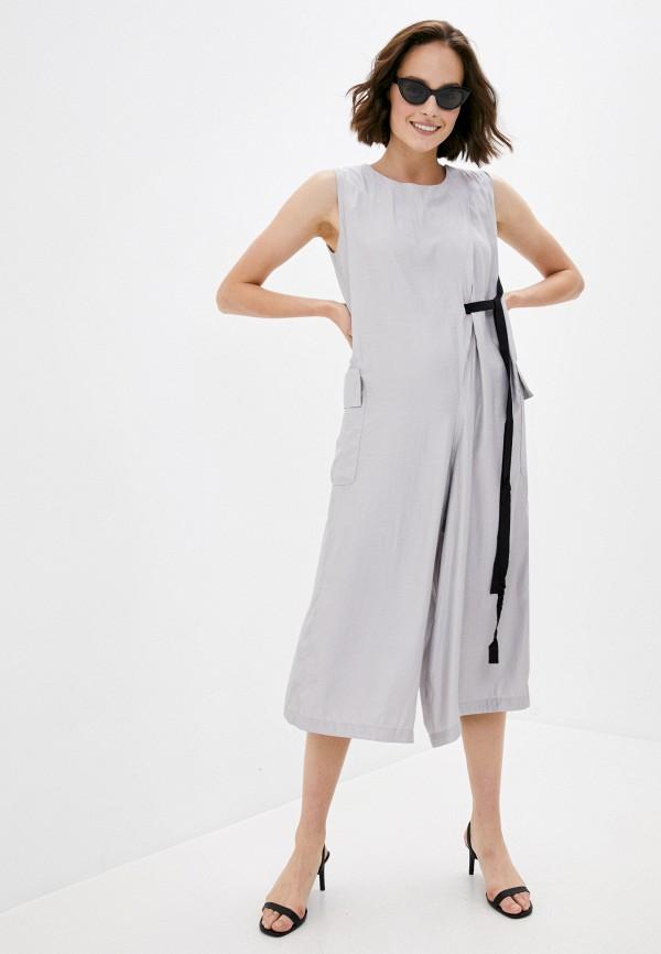 женский комбинезон b.style, серый