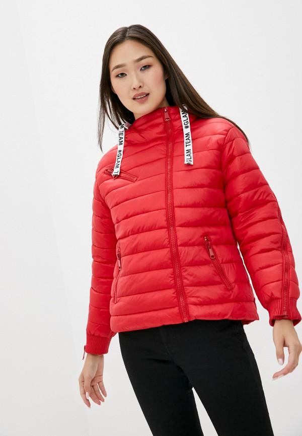 женская куртка b.style, красная