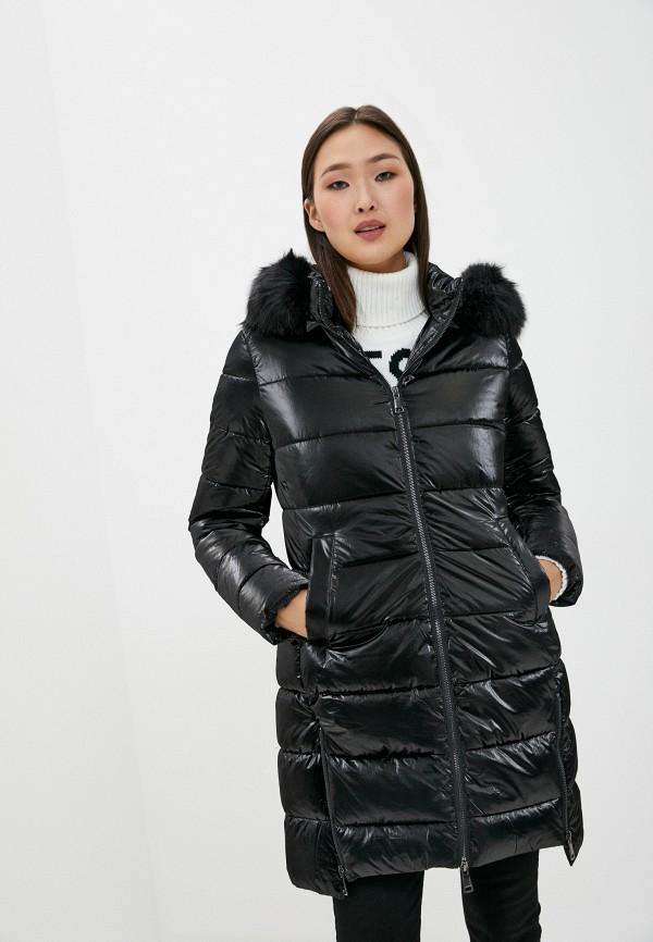 женская куртка b.style, черная