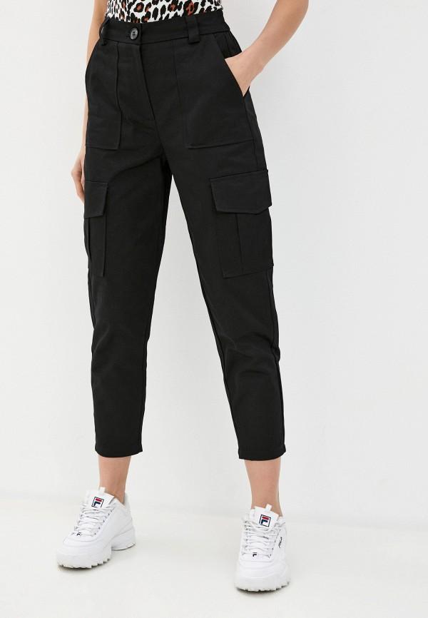 женские брюки b.style, черные