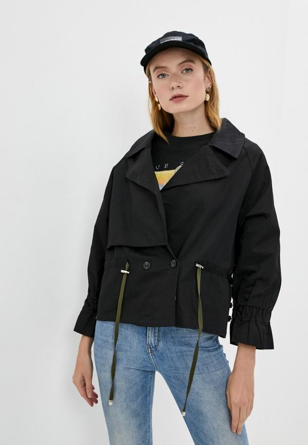 женская легкие куртка b.style, черная