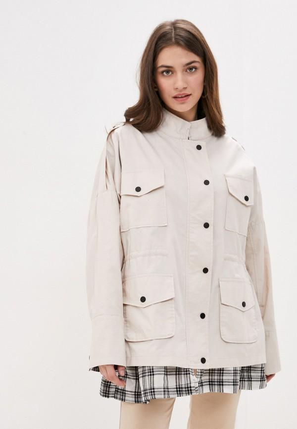 женская легкие куртка b.style, белая