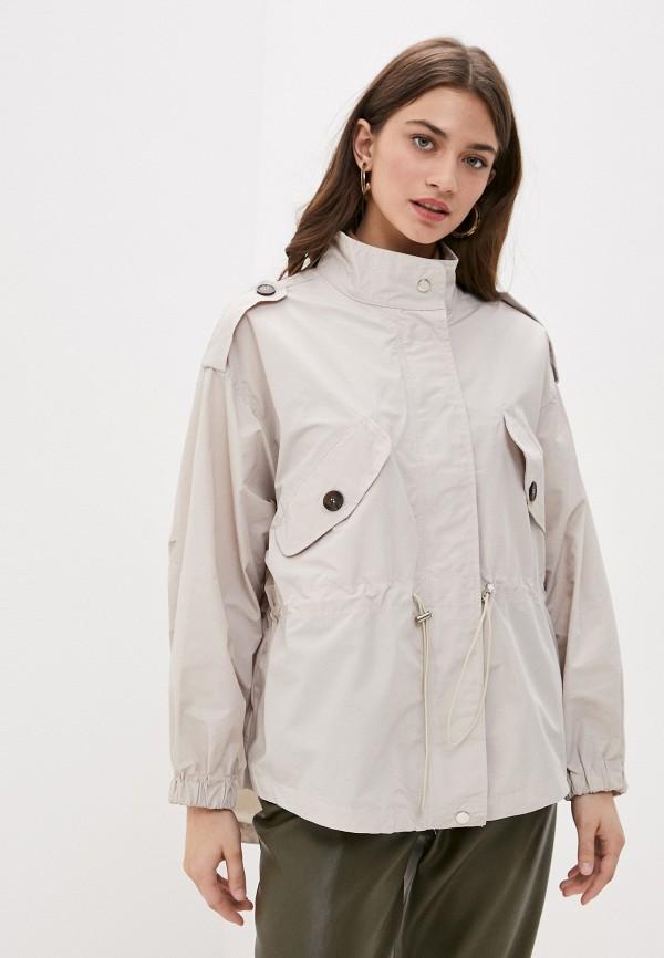 женская легкие куртка b.style, бежевая
