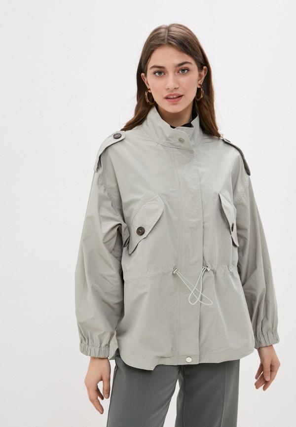 женская легкие куртка b.style, зеленая