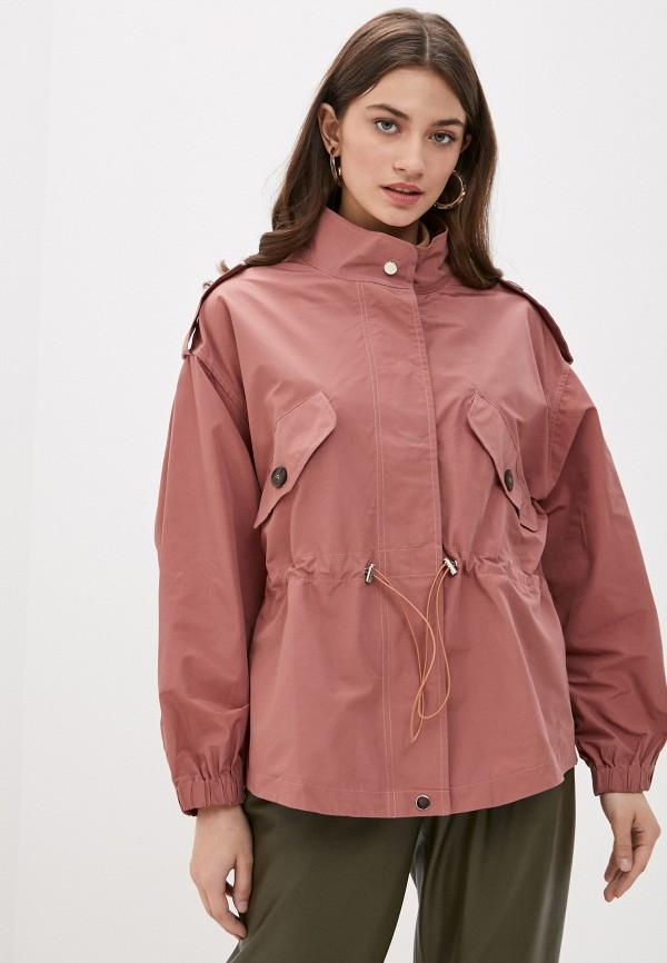 женская легкие куртка b.style, коричневая