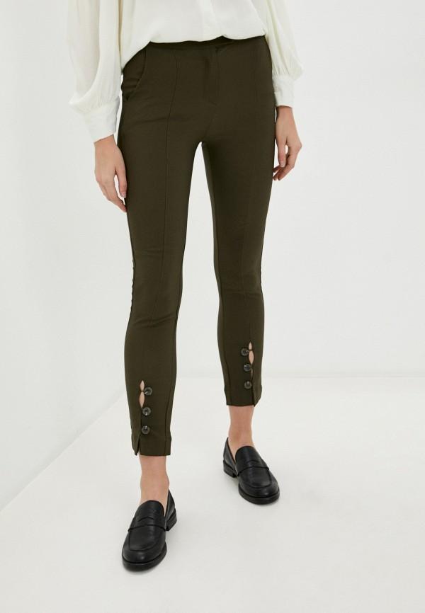 женские повседневные брюки b.style, хаки