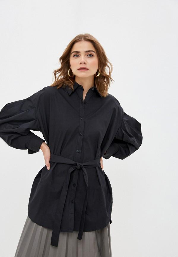женская туника b.style, черная