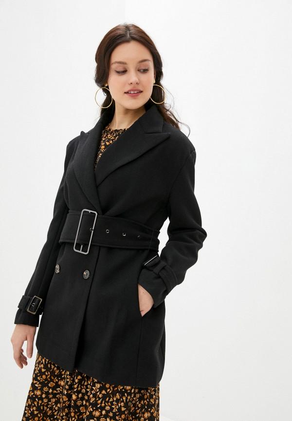 женское пальто b.style, черное