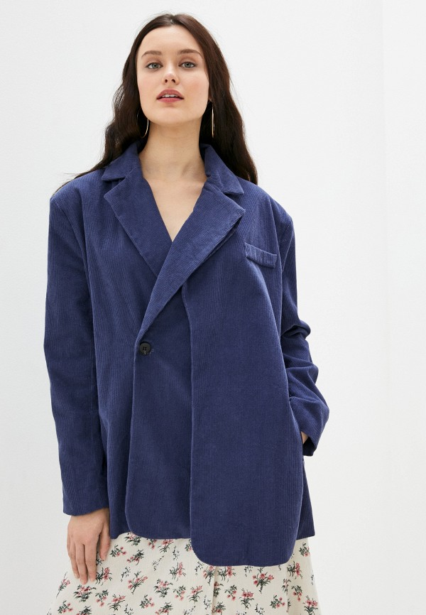 женский жакет b.style, синий