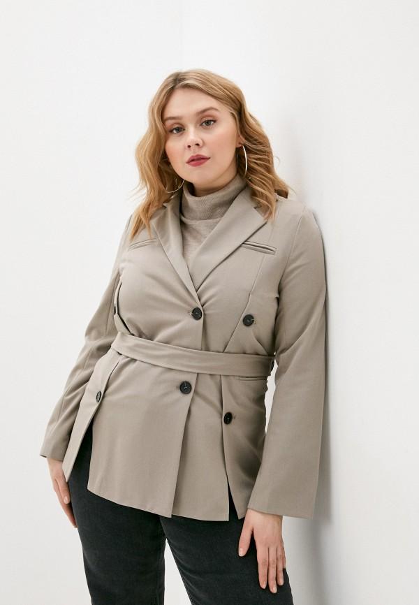 женский жакет b.style, серый