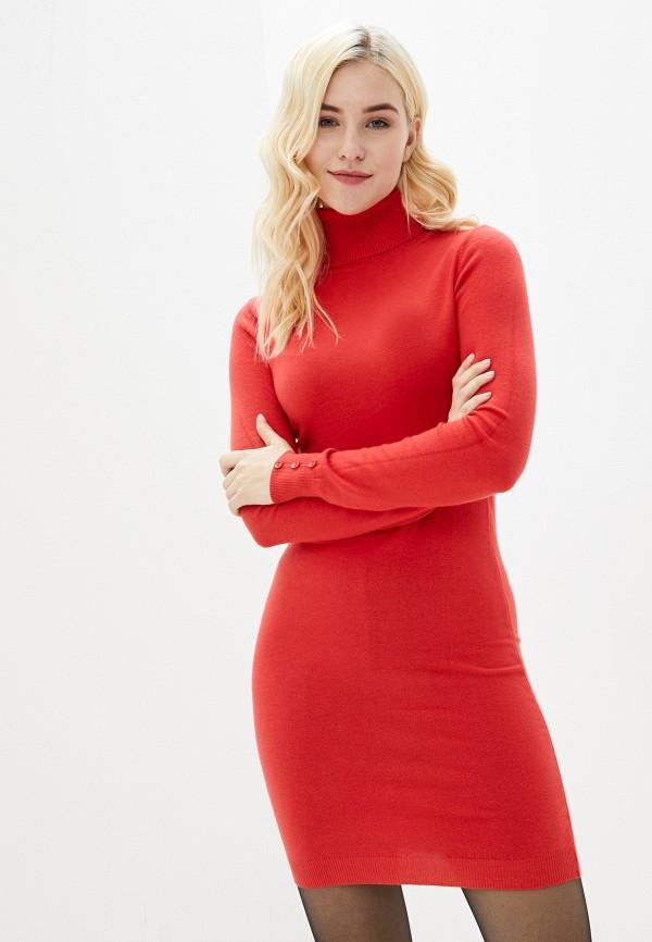женское платье b.style, красное