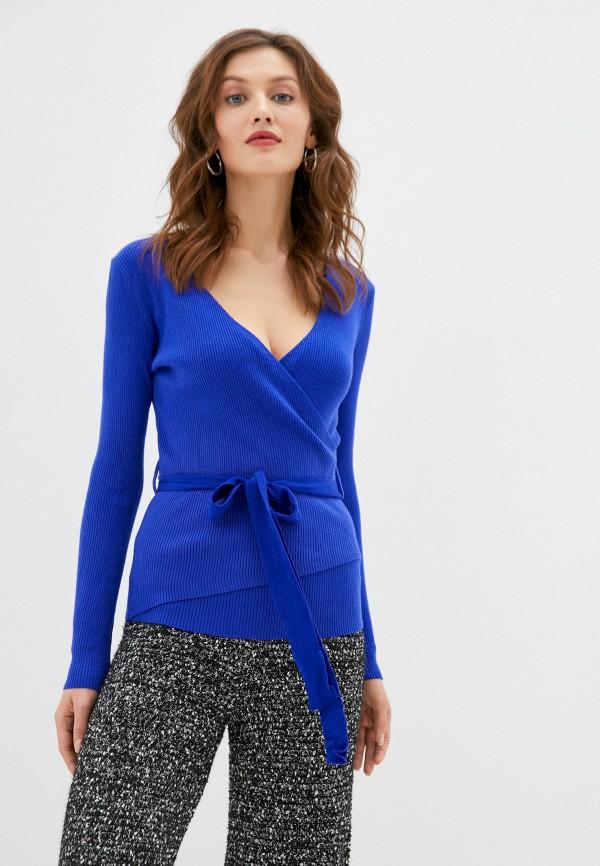 женский пуловер b.style, синий