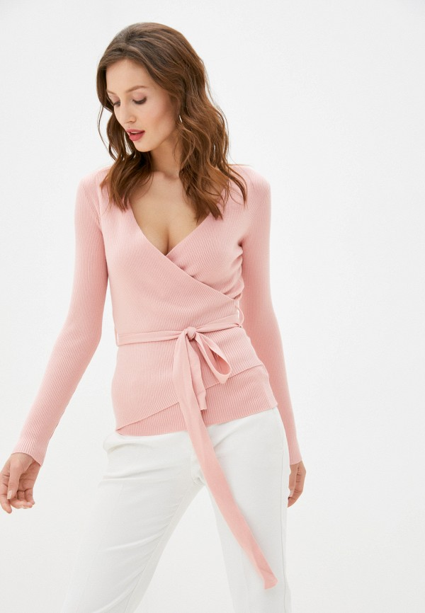 женский пуловер b.style, розовый