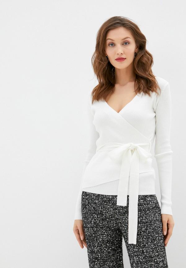 женский пуловер b.style, белый