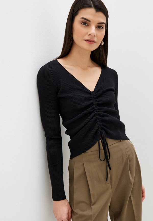 женский пуловер b.style, черный
