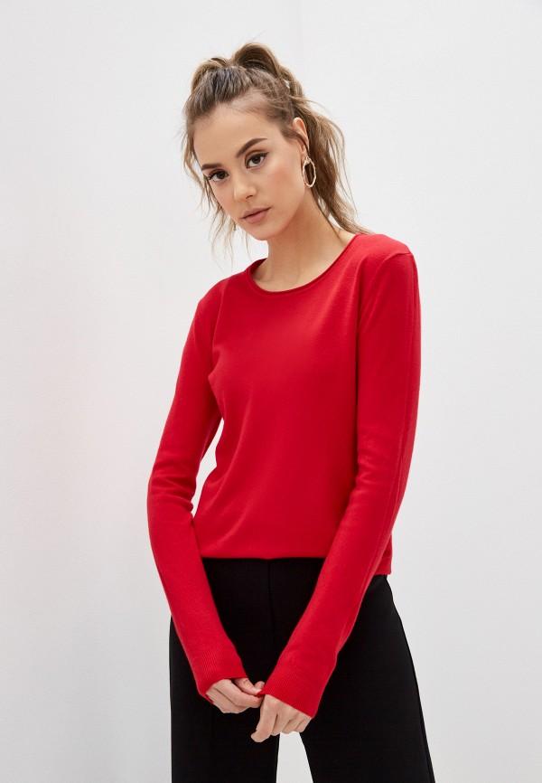 женский джемпер b.style, красный